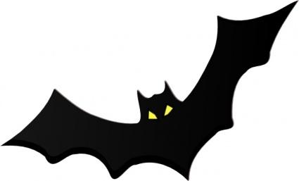 animal bat clipart #10