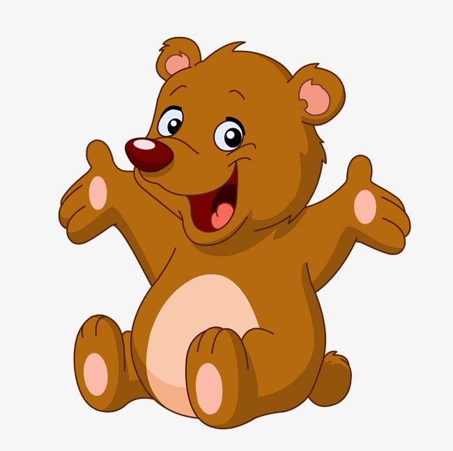 Happy Little Bear PNG, Clipart, Animal, Animals, Bear, Bear.
