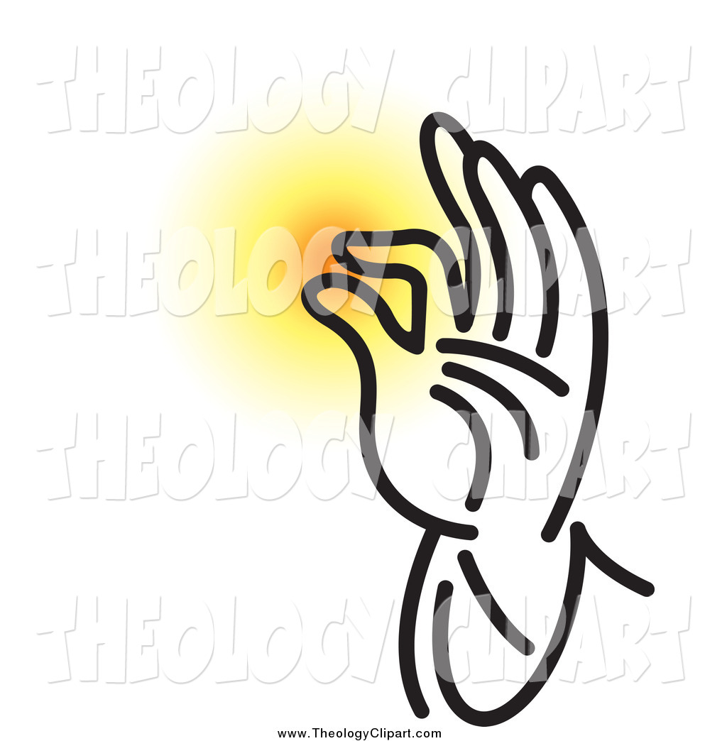 Blessing Hands Clipart.