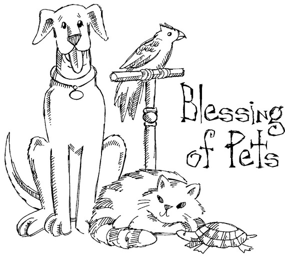 Blessing Of The Animals Clip Art.