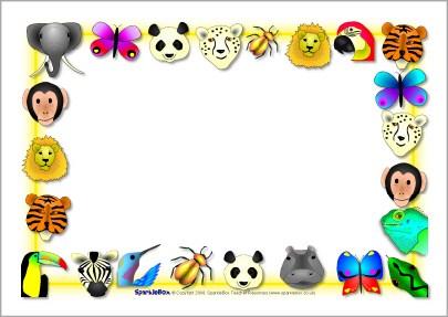 Animal border clipart 3 » Clipart Portal.
