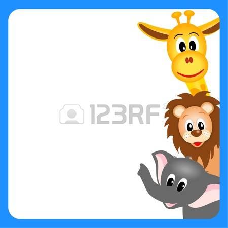 415 Giraffe Border Stock Vector Illustration And Royalty Free.