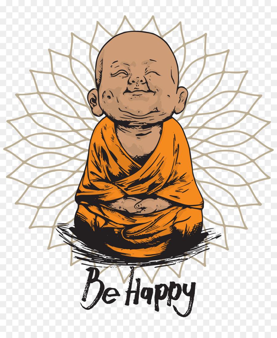 Buddha Cartoon.