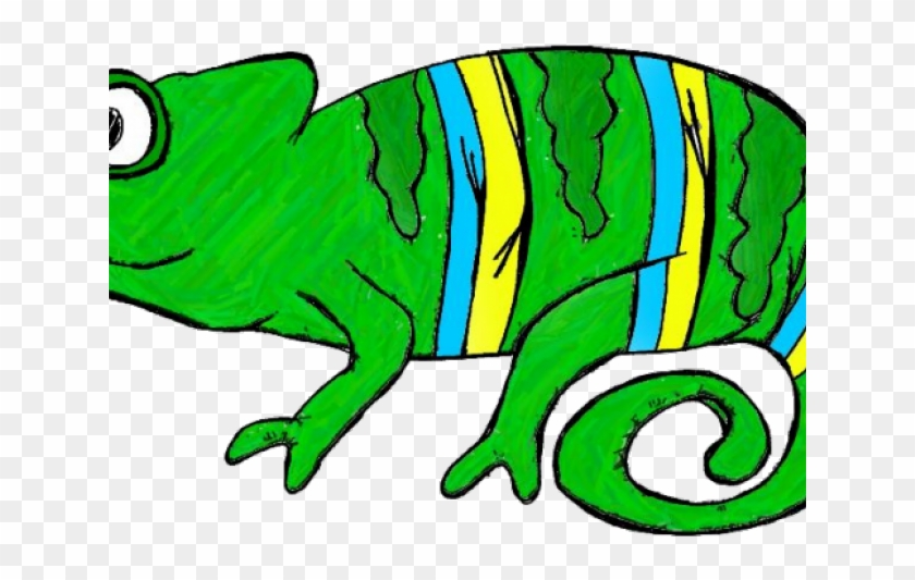 Camouflage Clipart Green Chameleon.