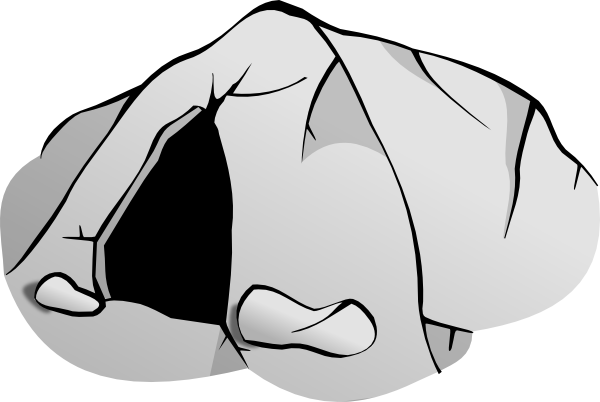 Animal cave clipart.