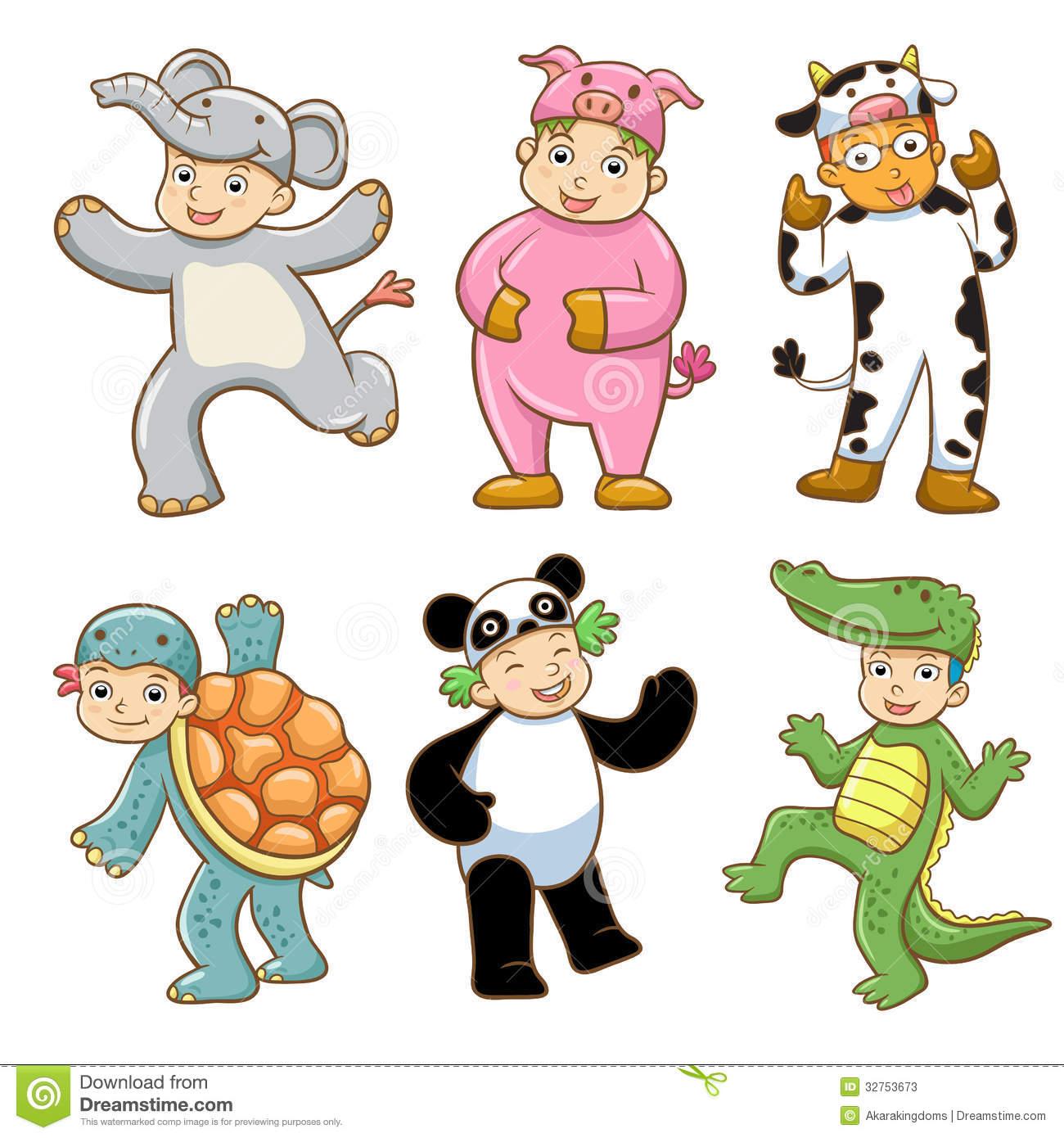 Animal clipart children.