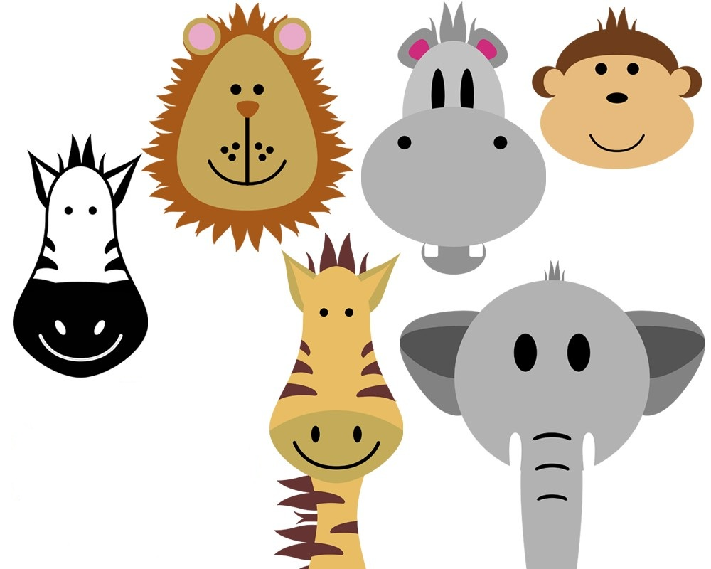Free childrens clip art animals.