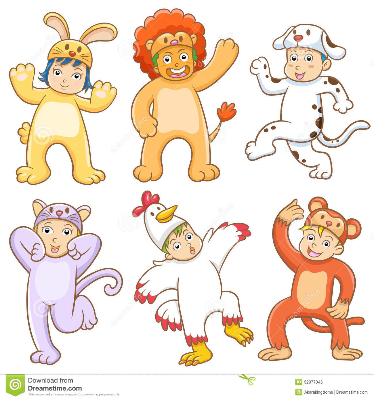 Clipart for children animal groups.