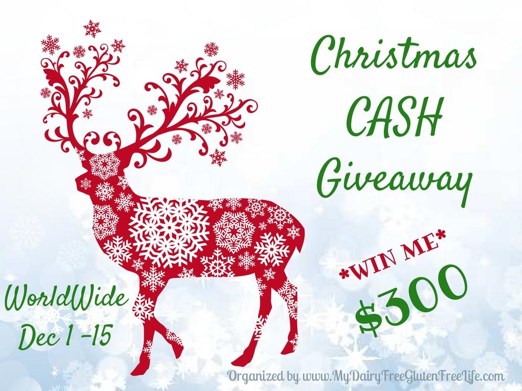 $300 Christmas Cash Giveaway!.