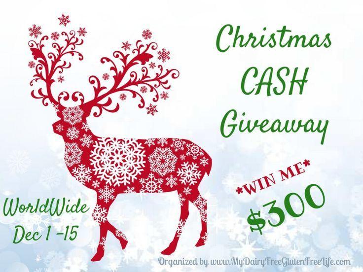 $300 Christmas Cash Giveaway.