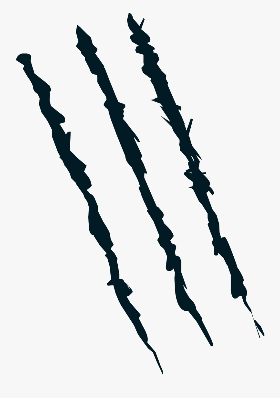 Transparent Claw Marks Png.