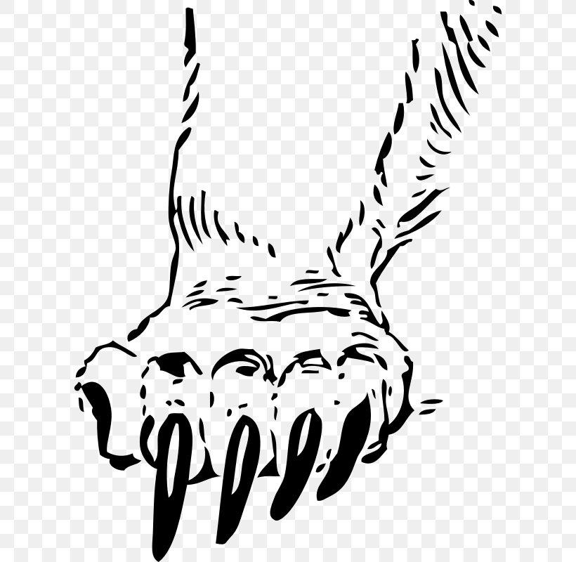 Bear Claw Tiger Paw Clip Art, PNG, 610x800px, Bear, American.