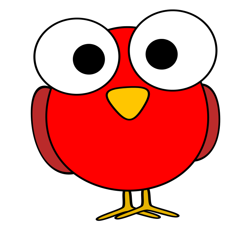 Free Clipart: Red googley.