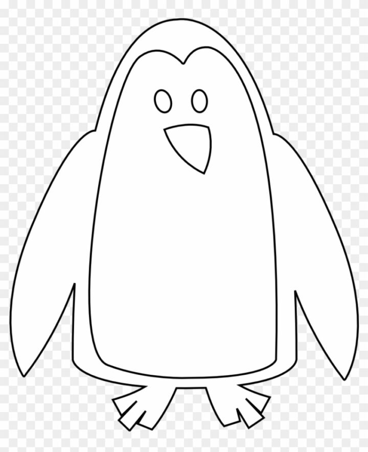 Animal Penguin Clipart Animals Clip Art Black And Write.