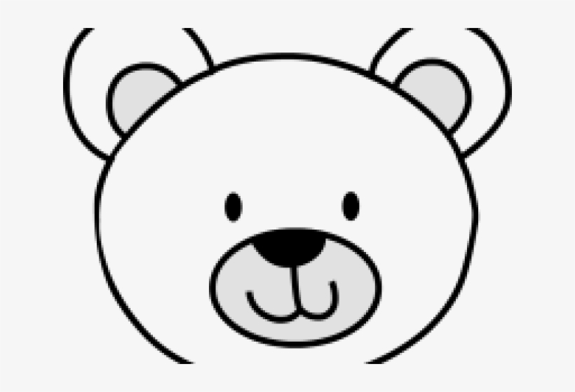 Polar Bear Clipart Head.