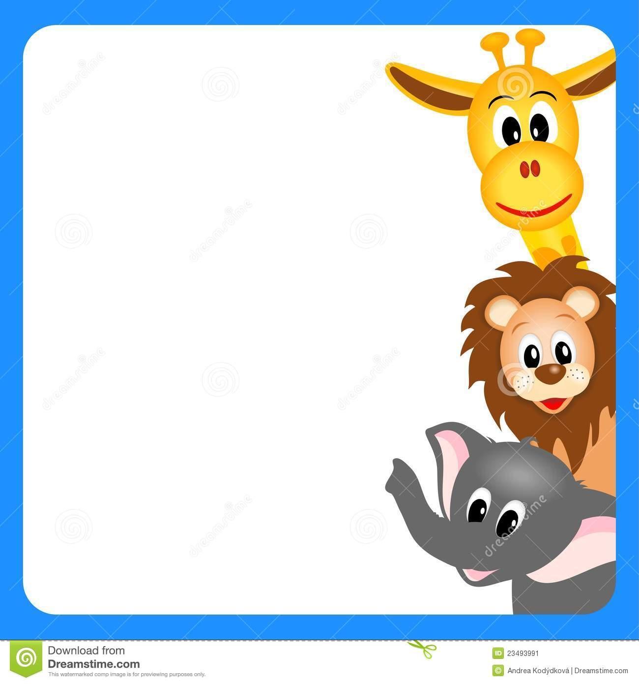 Free Animal Cliparts Border, Download Free Clip Art, Free.
