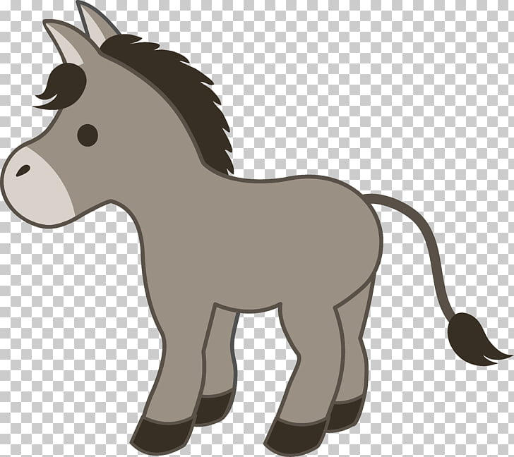Donkey Drawing Cartoon , donkey PNG clipart.