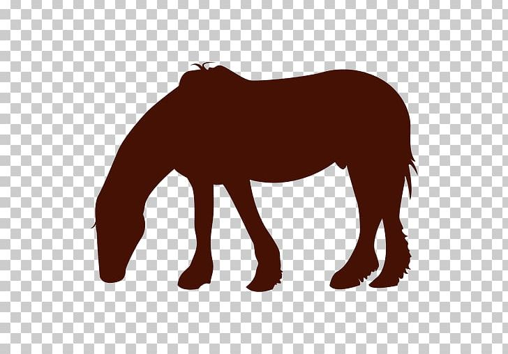 Mustang Pony Stallion Silhouette PNG, Clipart, Animal.