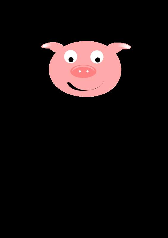 Free Clipart: Cerdo / Pig.
