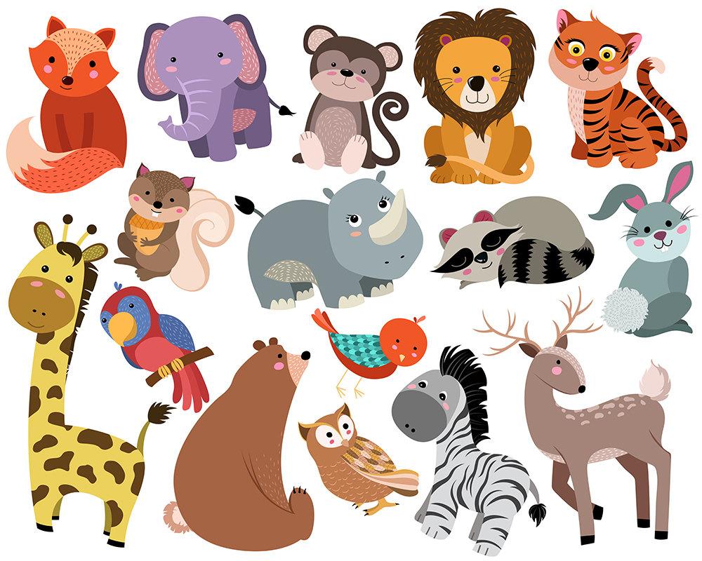 Clipart On Animals.