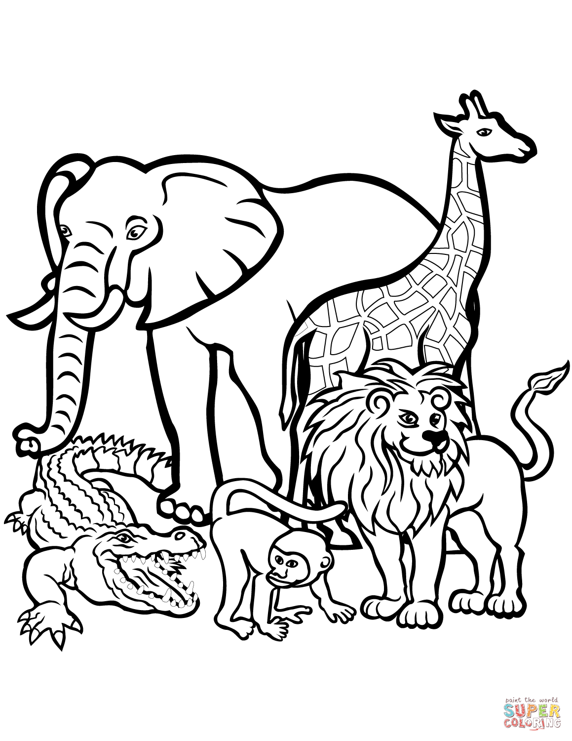 Coloring Pages Animal.