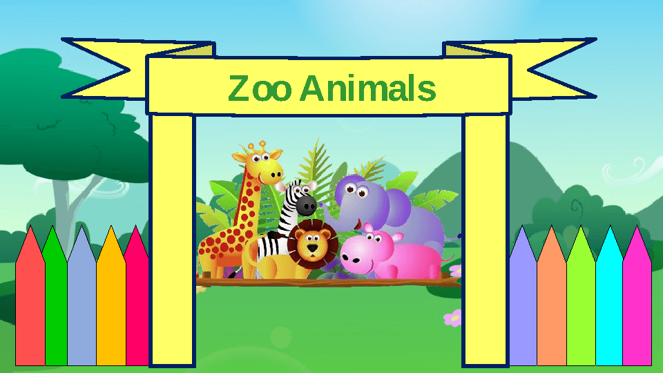 Animal clipart for powerpoint clipground showing post media for cartoon zoo powerpoint toneelgroepblik Images