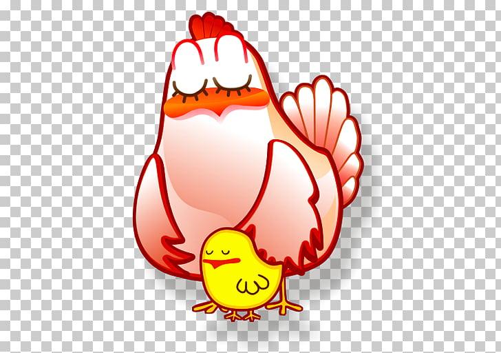 Organ food bird illustration, Gallina, red hen and yellow.