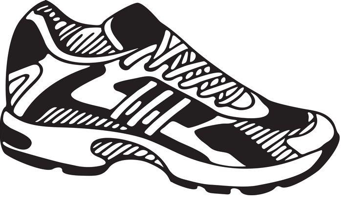 Tennis Shoe Clipart #1.