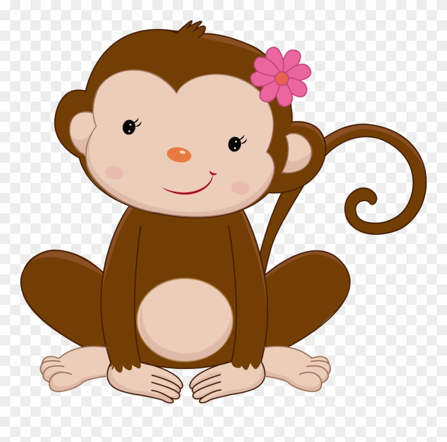 Safari Clipart Rainforest Monkey.