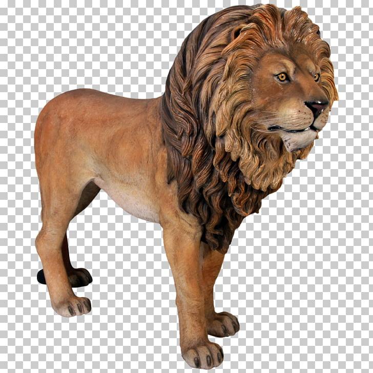 Lion Simba Statue Bronze sculpture, Leon PNG clipart.
