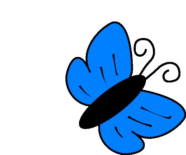 Mariposa Azul PNG, SVG Clip art for Web.