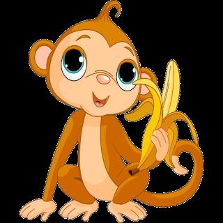 Monkeys Cartoon Clip Art.