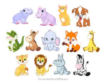 1136 Cute Animal free clipart.