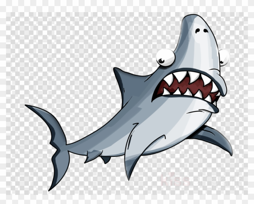 Download Scared Shark Clipart Great White Shark.
