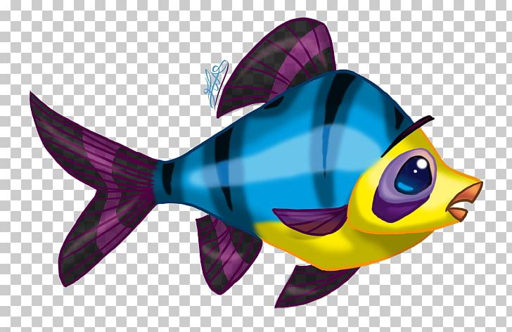 El silencio es un pez de colores Fish Animaatio Drawing.