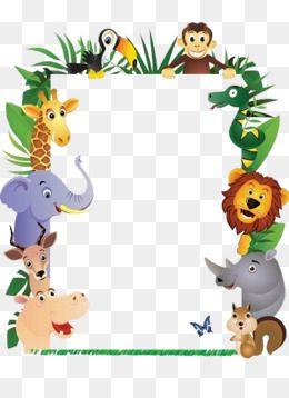 Animal Picture Frames Lion King, Monkey, Elephant.