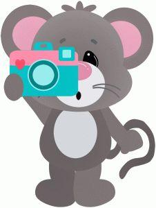 animal clipart raton #8