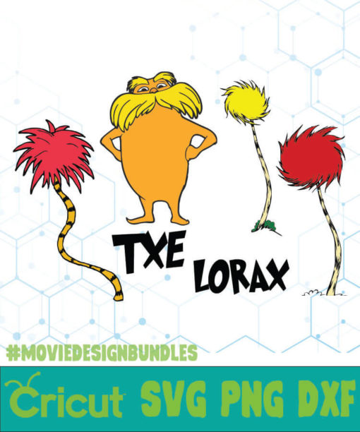 THE LORAX 3 DR SEUSS QUOTES SVG, PNG, DXF.