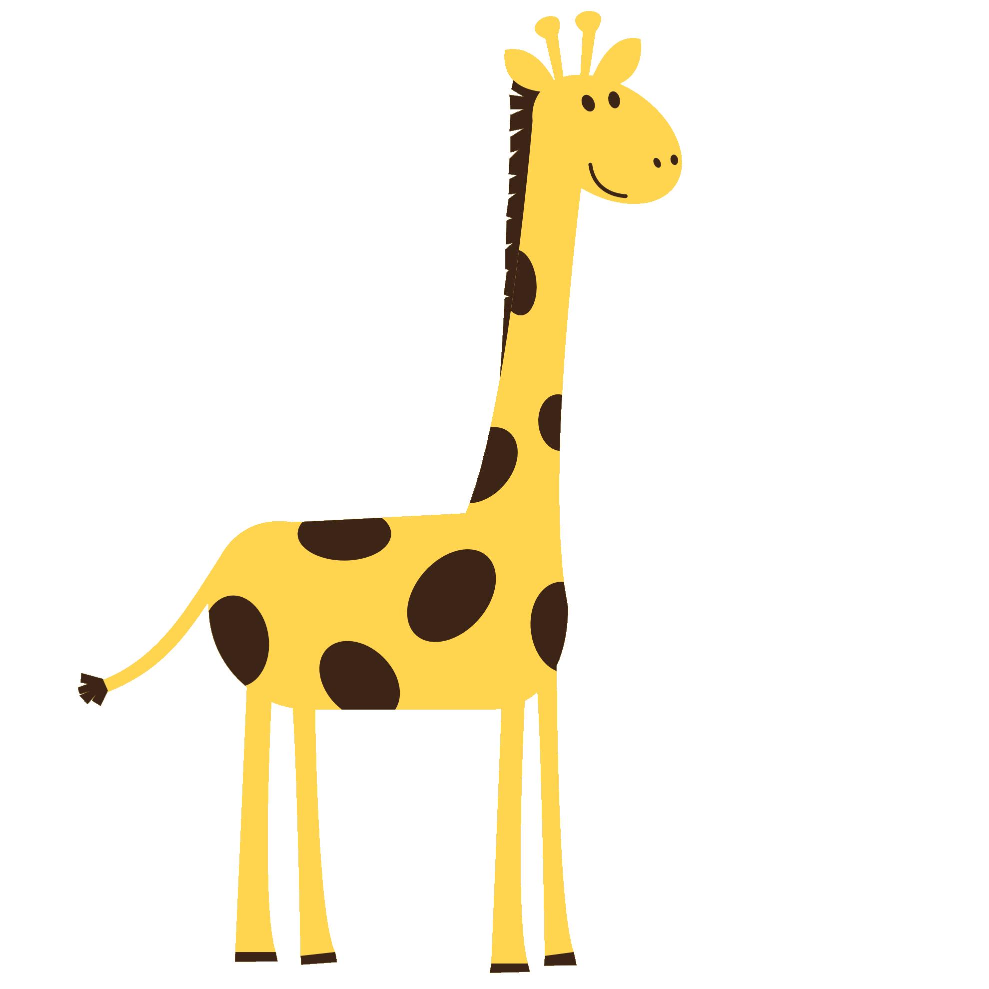 Zoo animal clipart sheet.