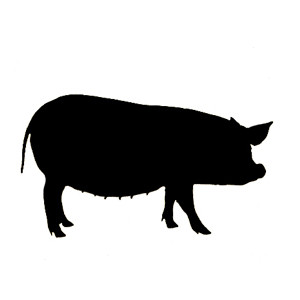 Animal Silhouette Clipart.