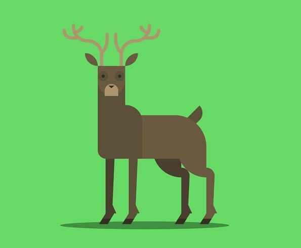 Geometric Simple Shape Animals.