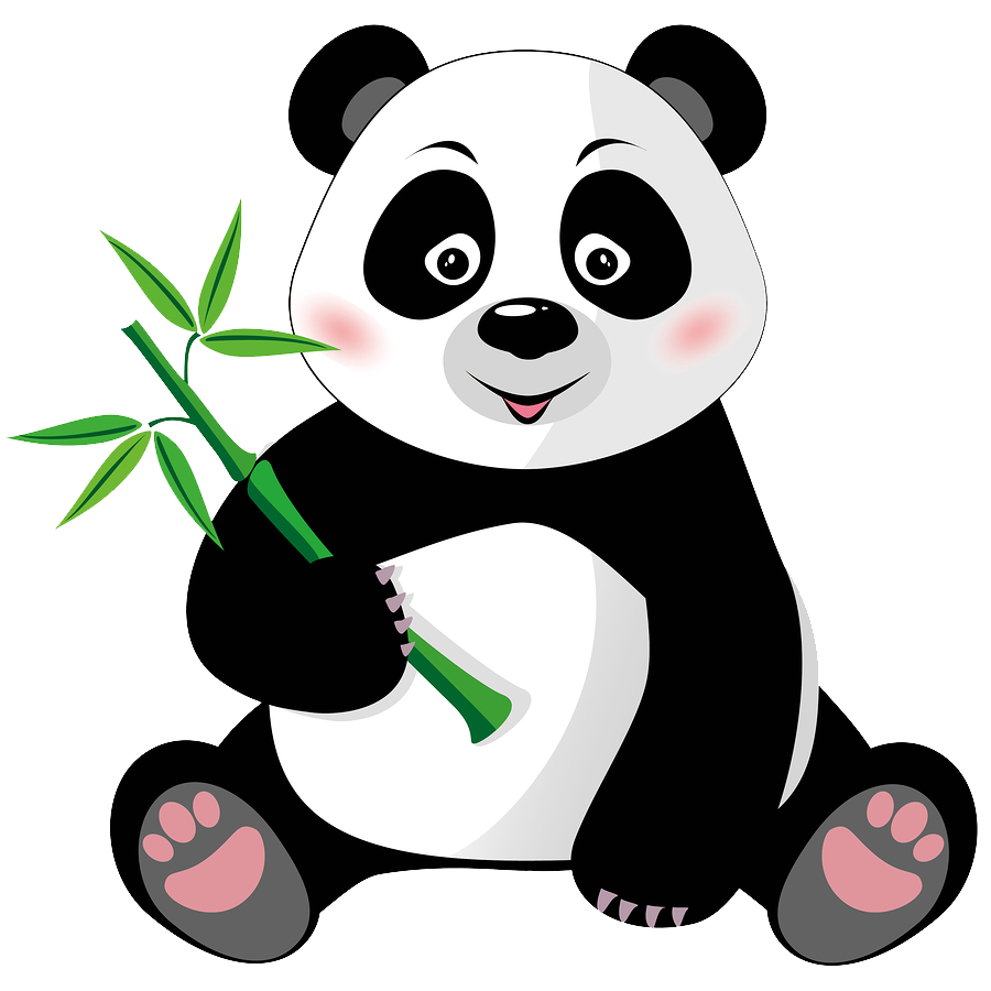 Giant panda Cartoon Royalty.