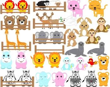 Noahs ark animals clipart 3 » Clipart Station.