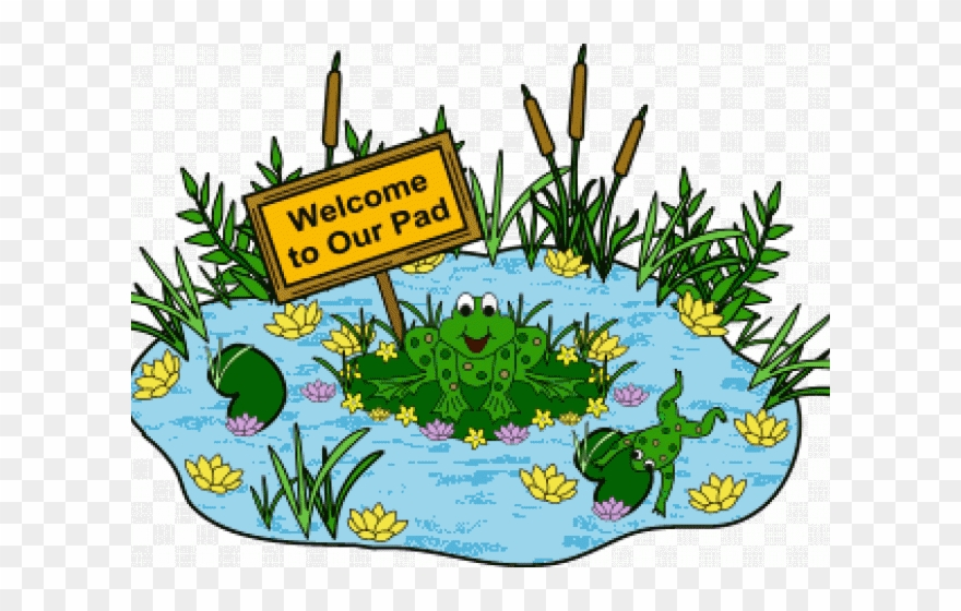 Pond Clipart Animal Community.