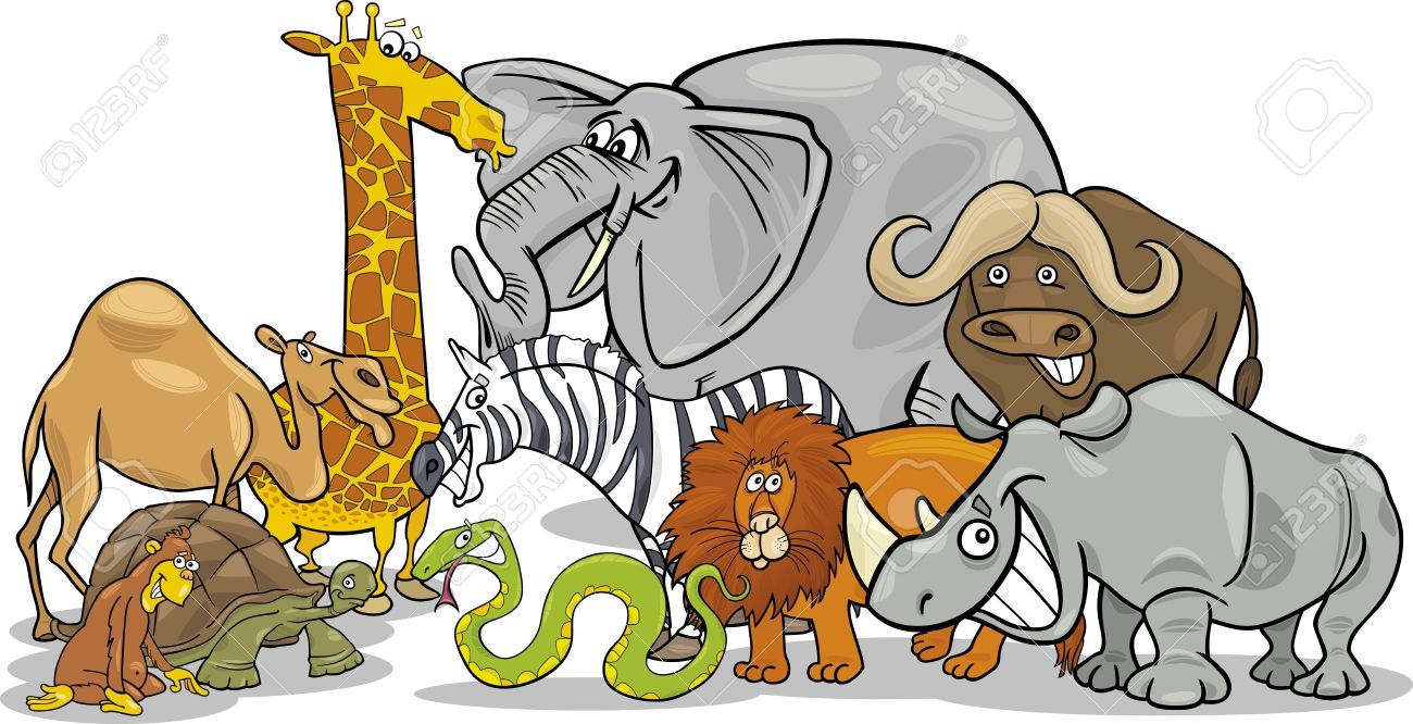 Animal Group Clipart.