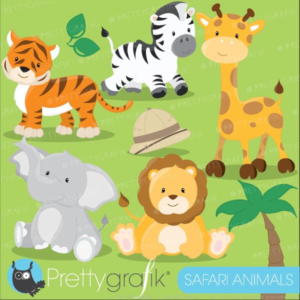 Cute baby animal clipart printable.
