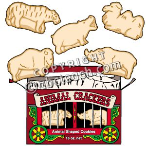 Animal Crackers Clipart.
