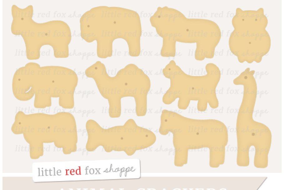 Animal Cracker Clipart.
