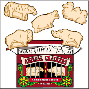 Animal crackers clipart clipart images gallery for free.