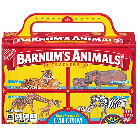 Barnum\'s Animals Crackers, 2.125.